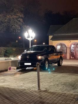 Mit Erlaubnis im Parkverbot geparkt