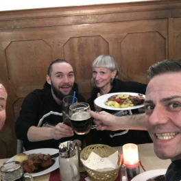 Abendessen in Regensburg